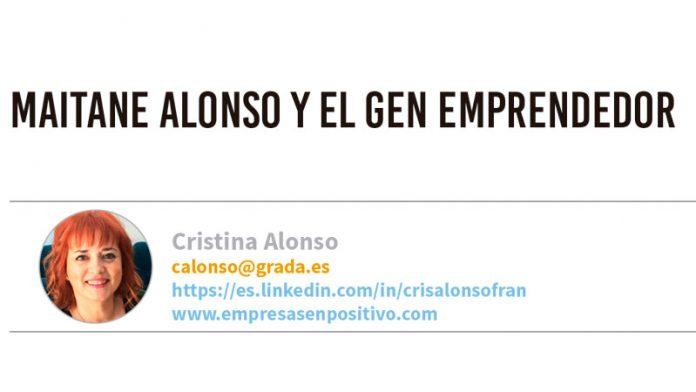 Maitane Alonso y el gen emprendedor. Grada 138. Cristina Alonso