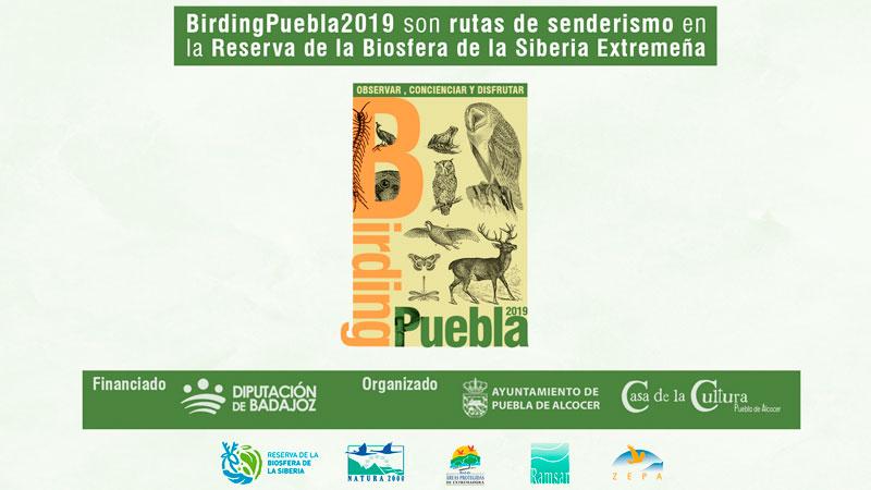 IV Birding Puebla en la localidad pacense de Puebla de Alcocer