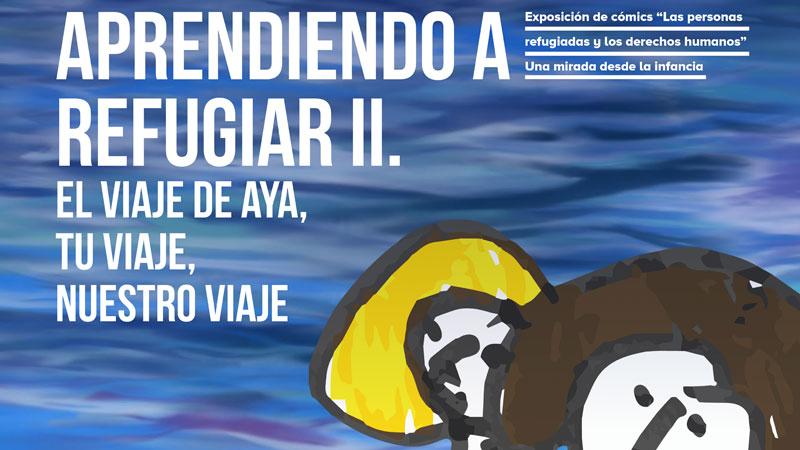 Exposición de Acnur y la Aexcid sobre inmigración en Mérida