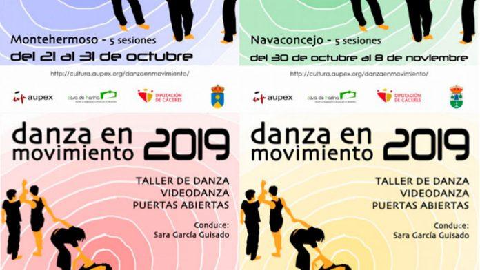 Aupex inicia la campaña 'Danza en movimiento 2019' en varios municipios cacereños