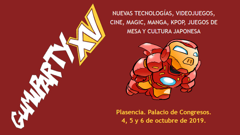 Festival de ocio alternativo 'Gumiparty' en Plasencia