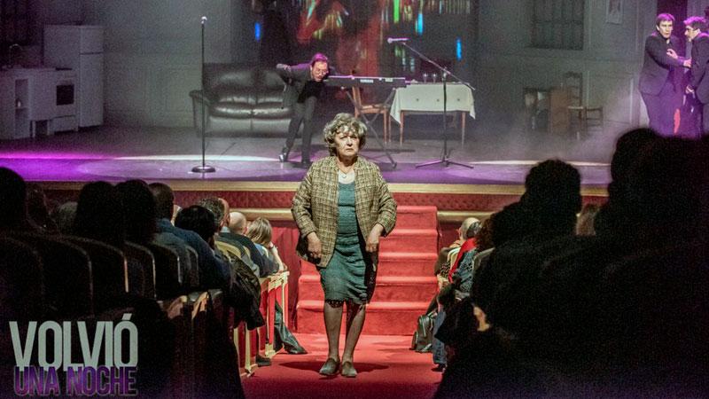 Representación de 'Volver una noche' en Plasencia