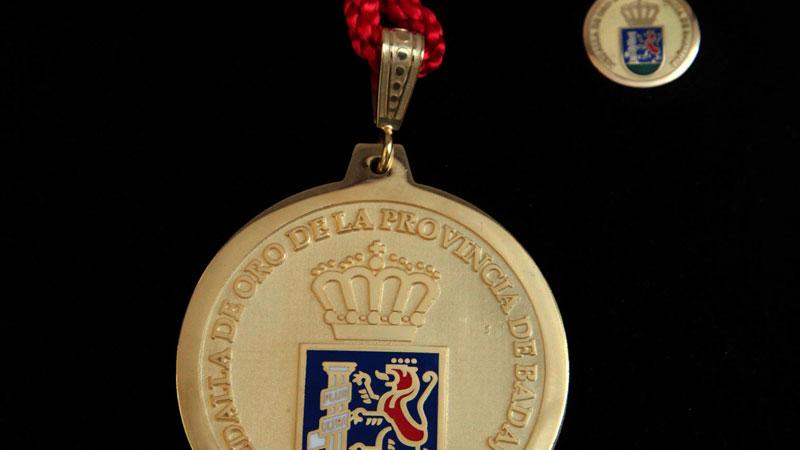 La Diputación de Badajoz abre el plazo de presentación de propuestas para la Medalla de Oro de la Provincia