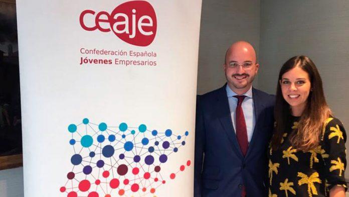 La presidenta de AJE Extremadura, Celina Pérez, es la nueva secretaria de Organización de la confederación nacional