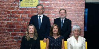 La ONCE entrega sus Premios Solidarios en Extremadura en el teatro López de Ayala de Badajoz