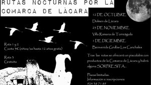 Rutas nocturnas con Adenex por la comarca de Lácara