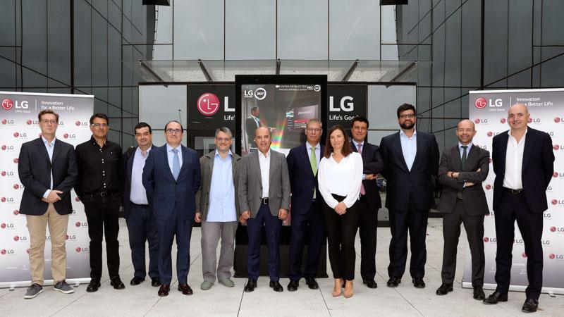 LG reúne a empresarios y directivos extremeños con la lucha contra el cambio climático en el horizonte