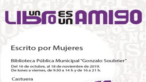 Exposición 'Escrito por mujeres' en Castuera