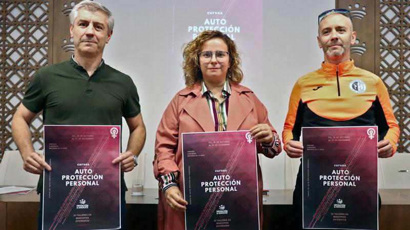 La Diputación de Badajoz organiza cursos de auto protección para mujeres