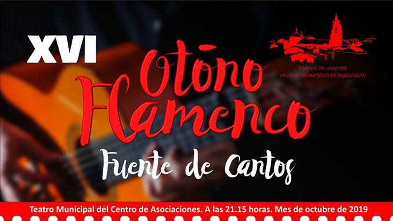XVI Festival de Otoño de flamenco Fuente de Cantos