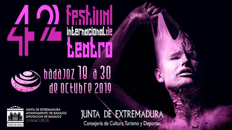 XLII Festival internacional de teatro de Badajoz