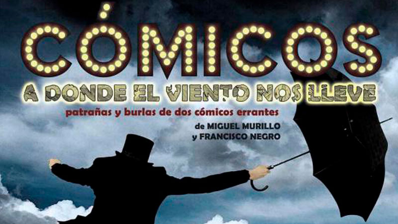 Representación de 'Cómicos, a donde el viento nos lleve' en Cáceres