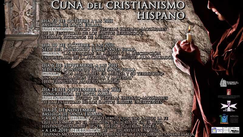III Jornadas 'Mérida: cuna del cristianismo hispano' en Mérida