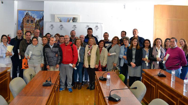 El Ayuntamiento de Jerez de los Caballeros entrega subvenciones a diversas entidades sociales