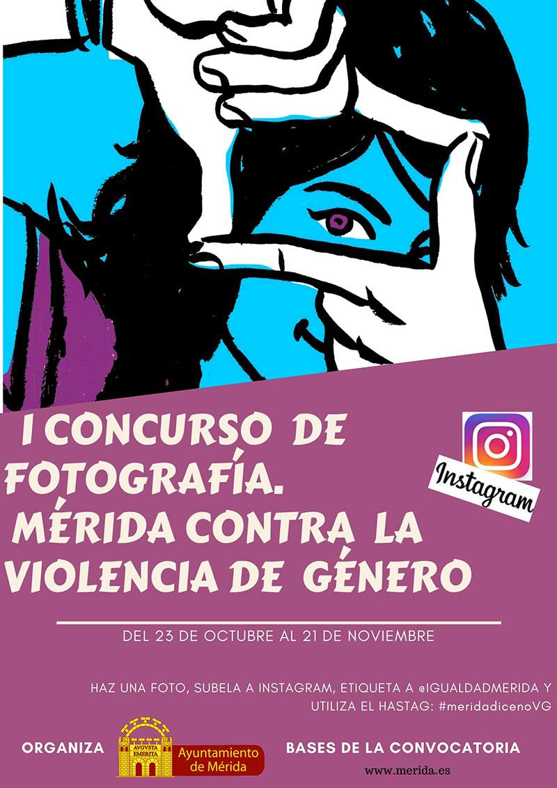 El Ayuntamiento de Mérida convoca un concurso por Instagram contra la violencia de género