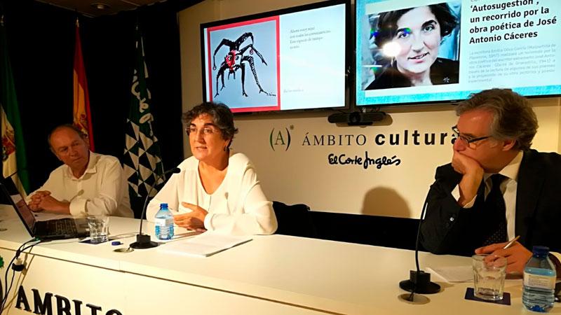 Emilia Oliva protagoniza los 'Lunes de la lírica' de El Corte Inglés de Badajoz