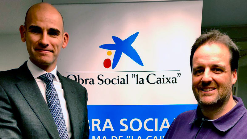 La Caixa y la federación de los Scouts de Extremadura firman un convenio de colaboración