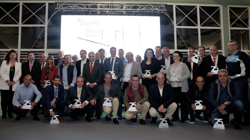 Aqualia celebra el XXV Aniversario de su llegada a Badajoz