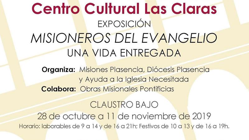 Exposición 'Misioneros del Evangelio' en Plasencia