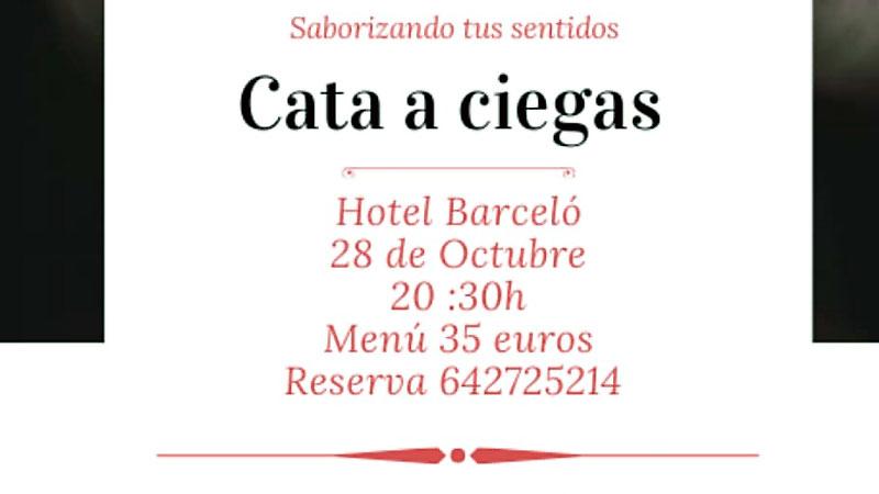 Cata a ciegas solidaria de Rotary Cáceres