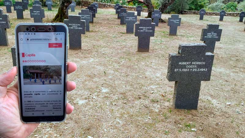 El Cementerio Alemán de Yuste acoge el necroturismo o turismo de cementerios