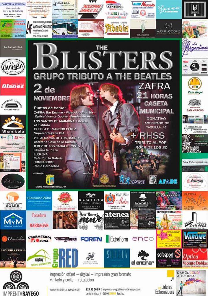 Concierto solidario en Zafra con tributo a The Beatles