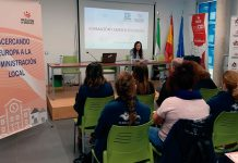 La Fempex colabora con la Diputación de Badajoz en la jornada 'Formación y empleo en Europa'. Grada 139