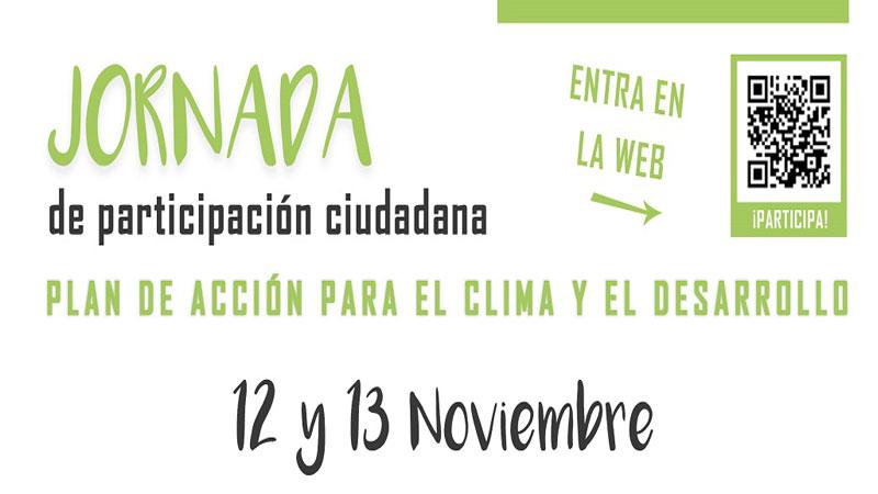 La Diputación de Badajoz organiza unas jornadas ciudadanas en materia de cambio climático