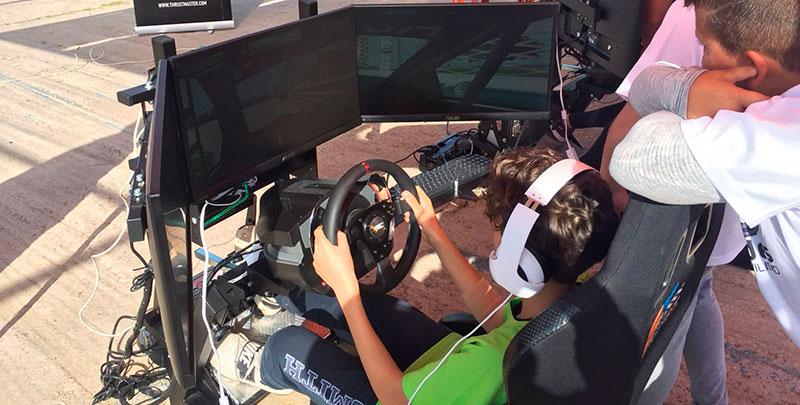 El programa 'Proades Automovilismo' cuenta este año con el doble de centros educativos participantes