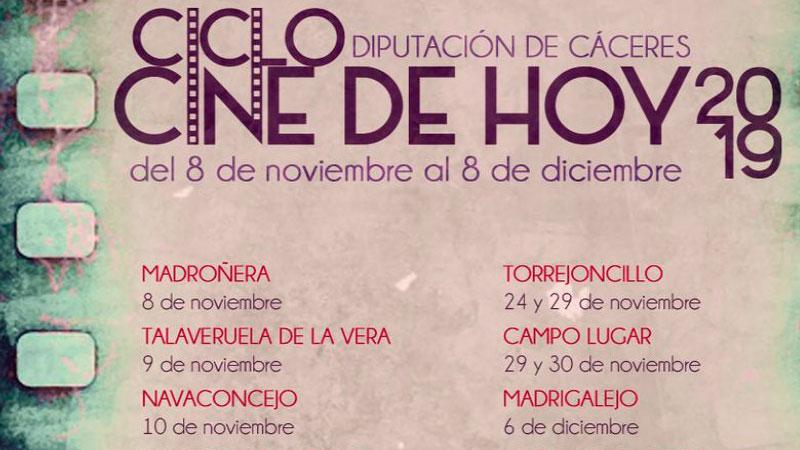 Ciclo de cine de la Diputación de Cáceres 'Cine de hoy'