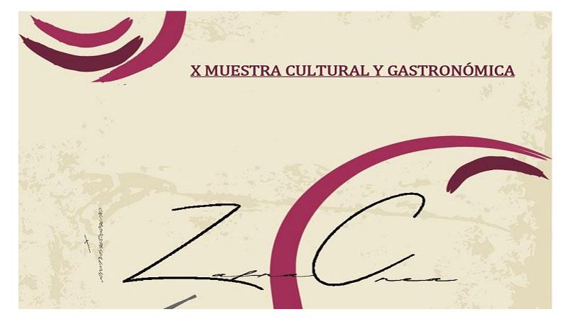 X Muestra Cultural y Gastronómica de Zafra