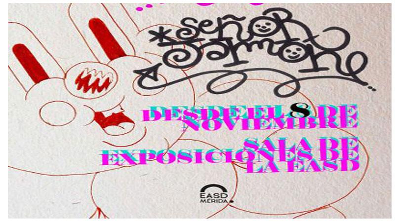 Exposición 'Turquesa Pink Kids' en la Escuela de Arte y Superior de Diseño de Mérida