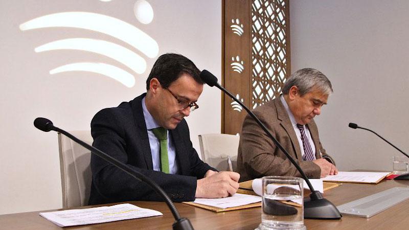 La Diputación de Badajoz y la Universidad de Extremadura promoverán las prácticas de los titulados