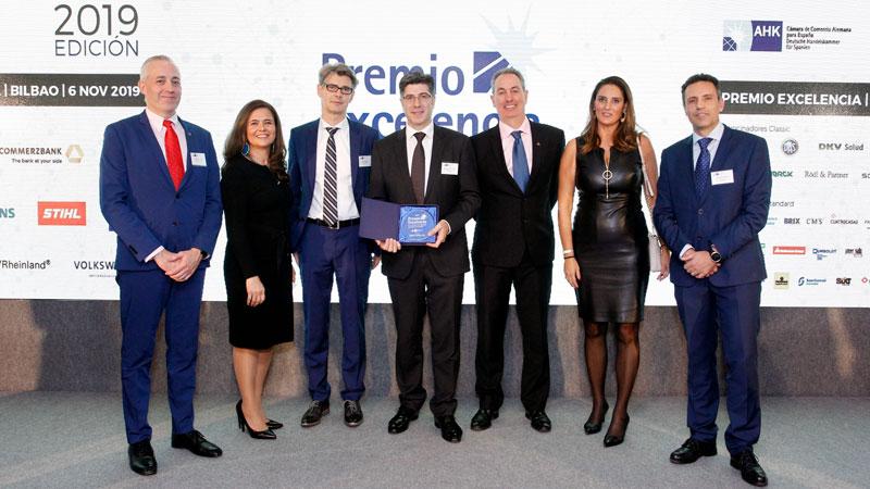 Deutz Business School EUTZ recibe el Premio a la Excelencia de la Cámara de Comercio Alemana para España