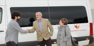 La Diputación de Cáceres colabora con la Asociación APTO de Navalmoral de la Mata