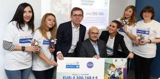 Fundación Solidaridad Carrefour dona 300.000 euros a Cocemfe