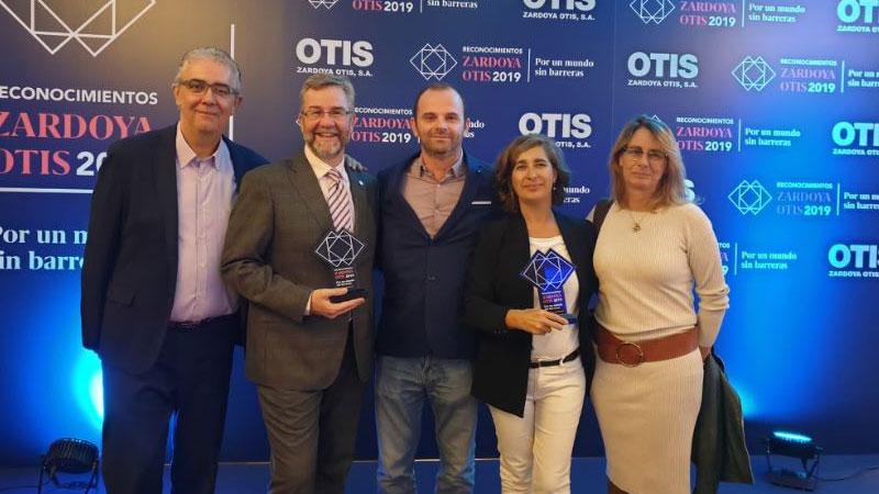 Los Premios Zardoya Otis reconocen al servicio de videointerpretación para personas sordas 'SVisual'