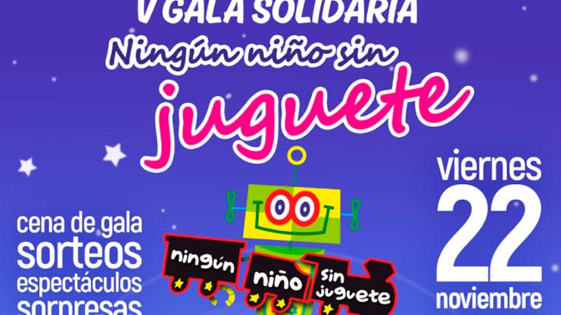 V Gala solidaria 'Ningún niño sin juguete' en Badajoz