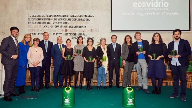 Ecovidrio entrega la vigésima edición de sus premios