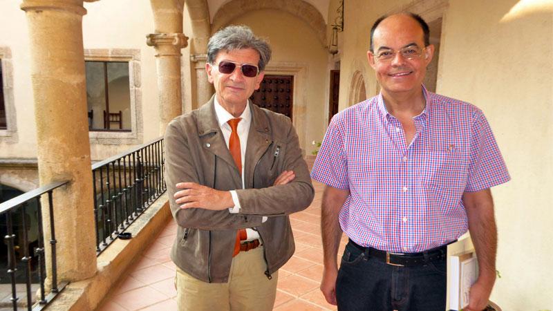 José Antonio Ramos presenta su libro 'Vida y obras de Ricardo Pecharromán'