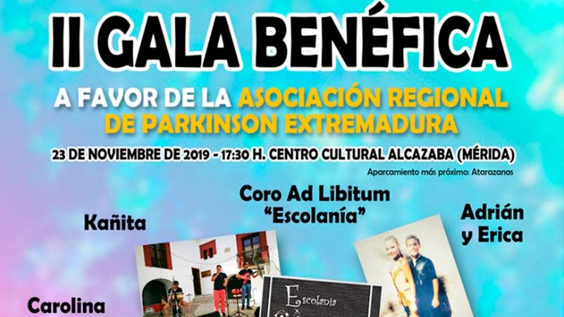 II Gala benéfica en favor de los enfermos de Parkinson en Mérida