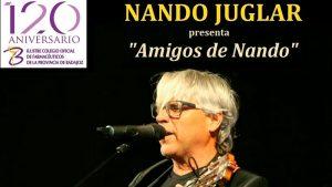 Concierto de Nando Juglar en el Teatro López de Ayala