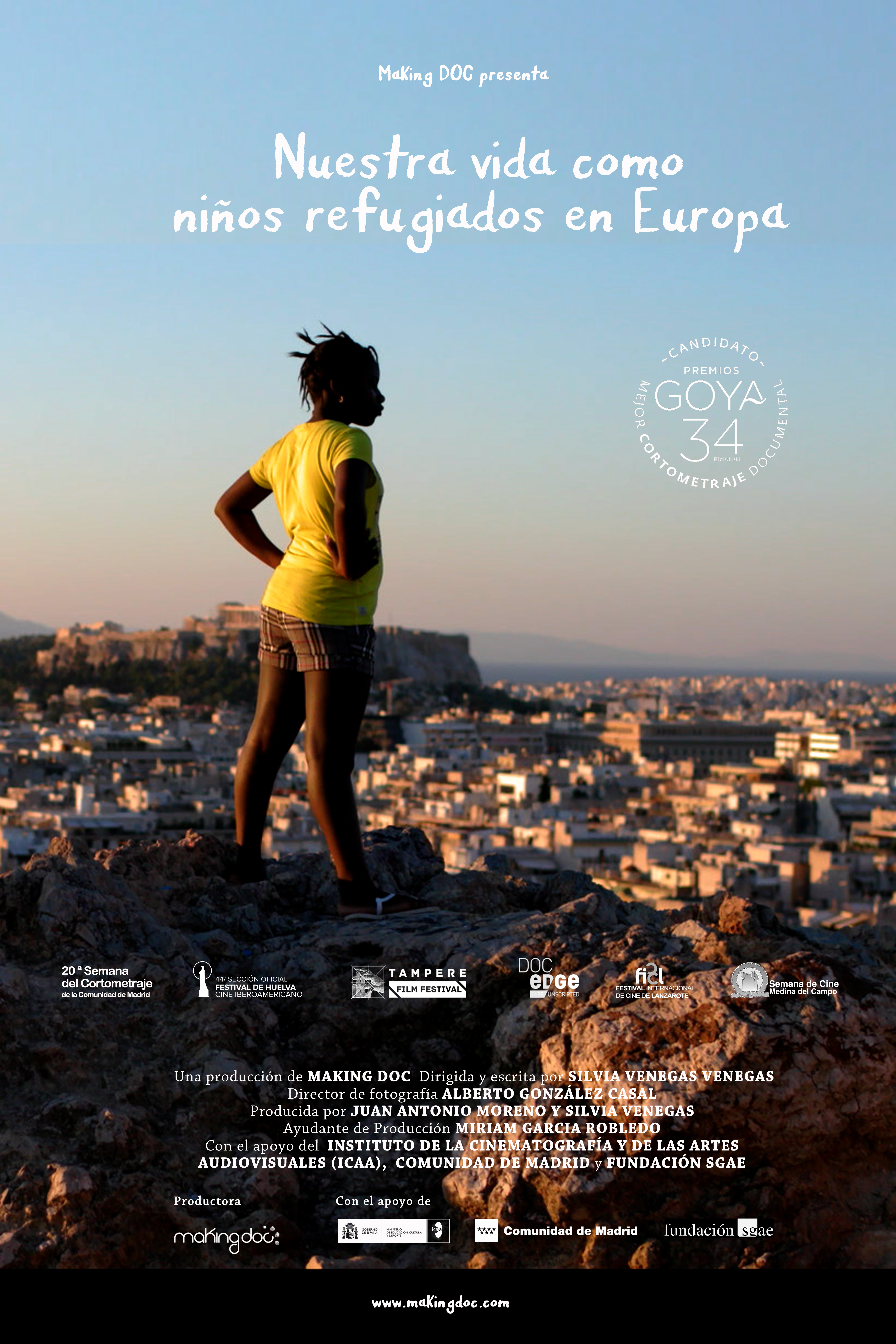 Dos cortometrajes de la productora extremeña 'Making Doc' son candidatos al Goya