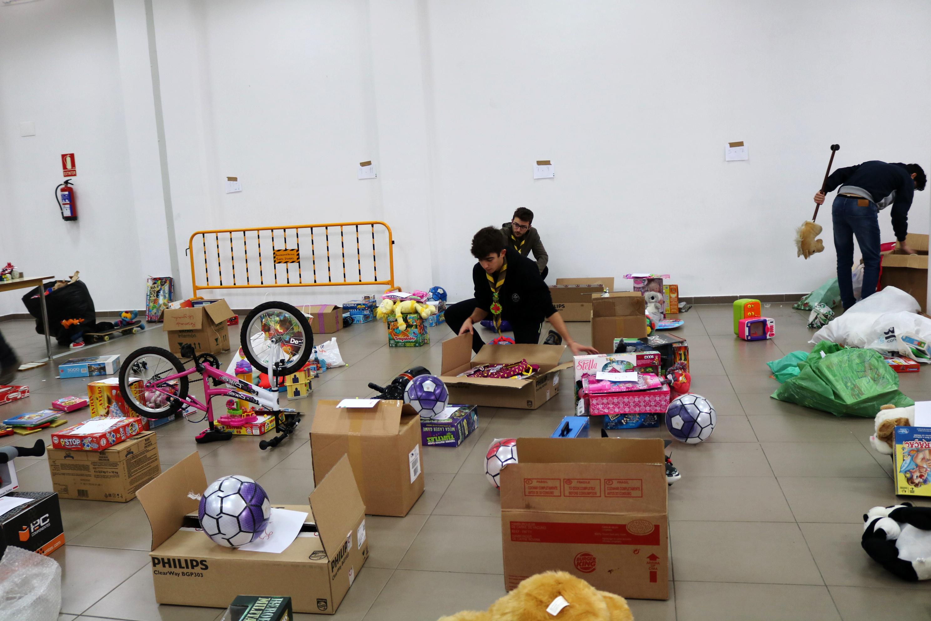 El Grupo Scout 513 Santa Teresa pone en marcha una campaña de recogida de juguetes
