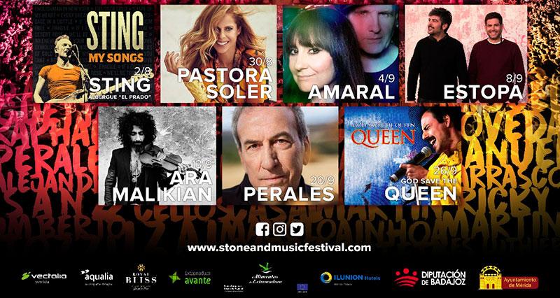 Primeras actuaciones confirmadas para el festival Stone & Music 2020