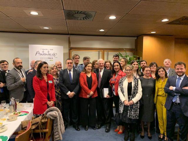 El Parlamento Europeo mejorará la calidad de vida de las personas con discapacidad con el apoyo de la ONCE
