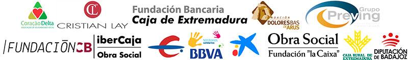 Entidades patrocinadoras de TheraCenter Extremadura