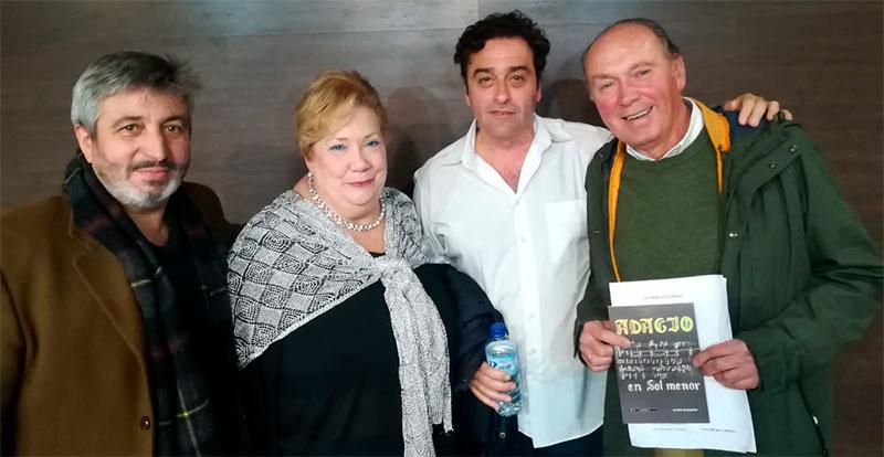 Fernando Garduño, Clara Blázquez, José Carlos Corbacho y Plácido Ramírez