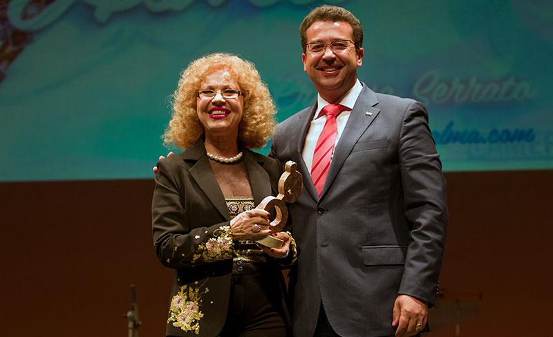 Rosa Morena recibió en 2013 el Premio Grada a la Trayectoria. Foto: Eduardo Sierra