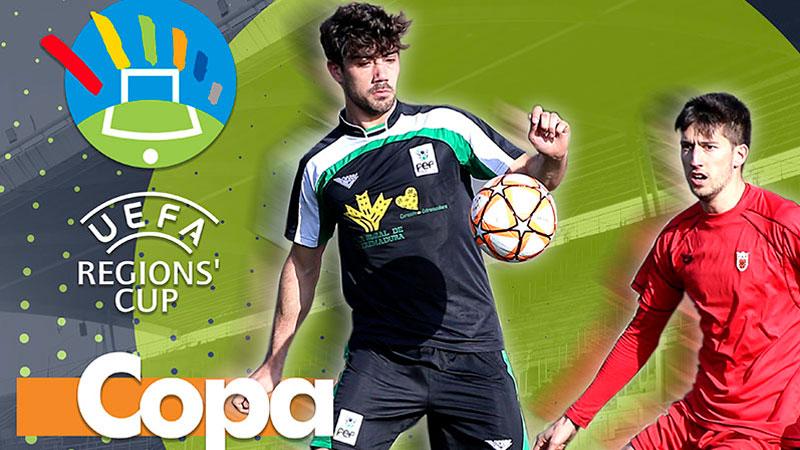 Copa de las Regiones UEFA en Arroyo de San Serván y Puebla de la Calzada